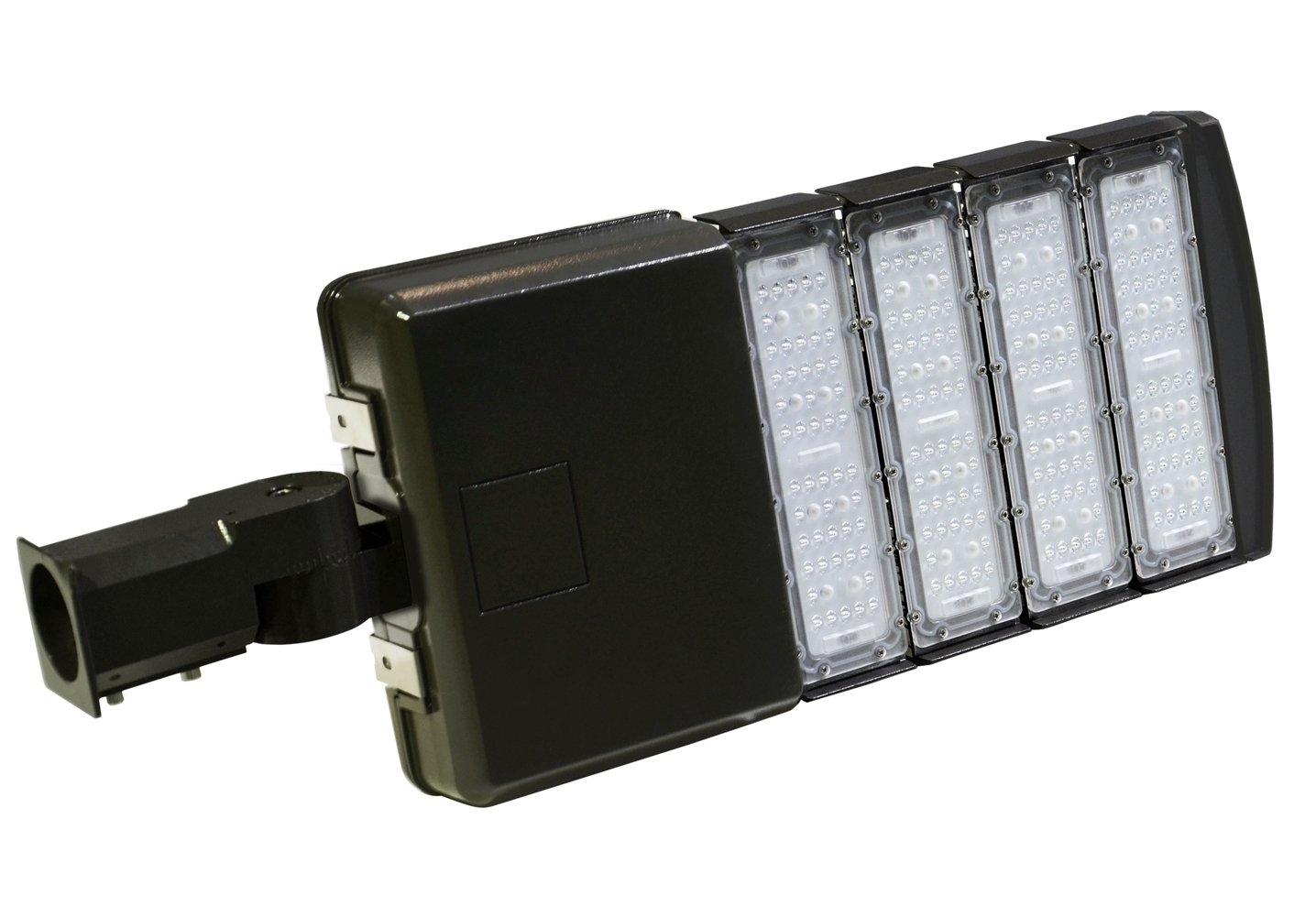 Yao-Lite 200watt LED Parking Lot Lighting for Light Poles Street Lighting Shoebox Area Light Fixtures 5000k Daylight 22000LM 5 Year Warranty