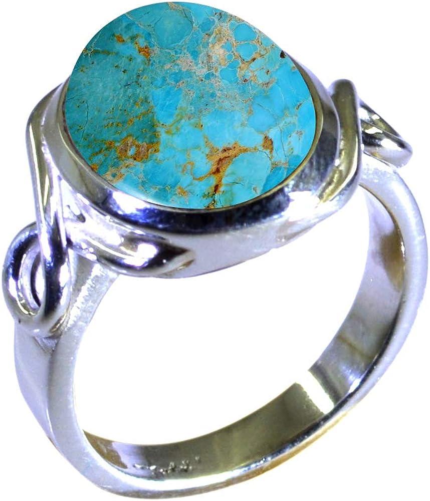 Jewelryonclick Couleur au choix Chaton ovale Bague en argent avec pierre pr/écieuse naturelle pour femme
