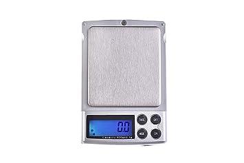 Quantum Abacus Báscula digital de precisión/balanza para correo/joyería/pesacartas/microbalanza/pesillo/balanza de bolsillo, 500gr / 0,1gr, Mod.