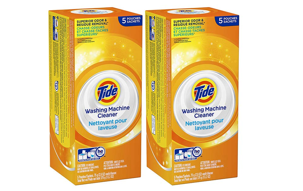 Tide Washing Machine Cleaner, 5 Count (2 Tubs)