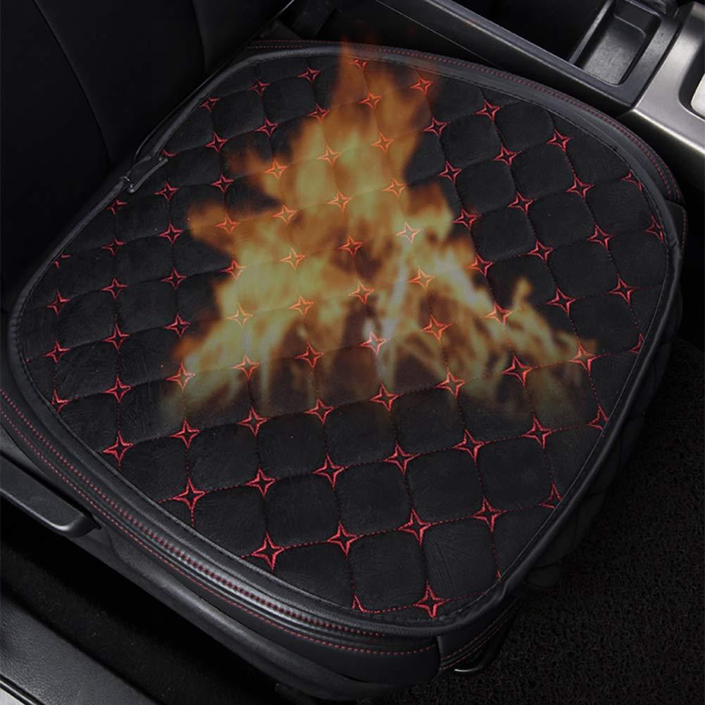 Queta Autositz Heizung Auto Beheizbare Sitzauflage 12V Sitzheizung Auto Heizauflage Temperatur Einstellbar Heizstufe f/ür universal Auto im Winter