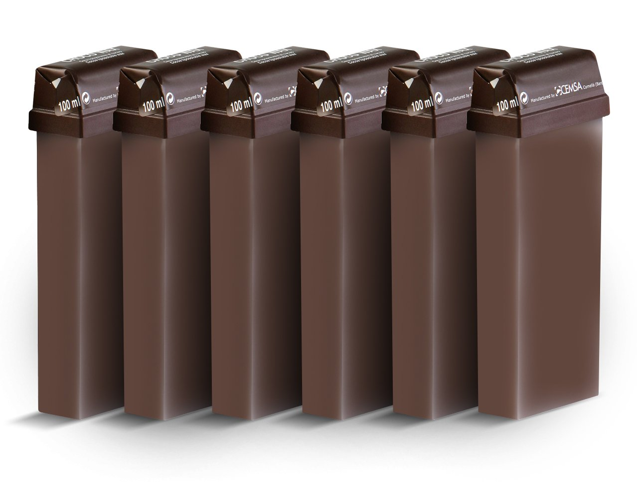 Beauty Image Chocolate Warm Wax Roll On - Pack of 6 BeautyCentre 100003x6