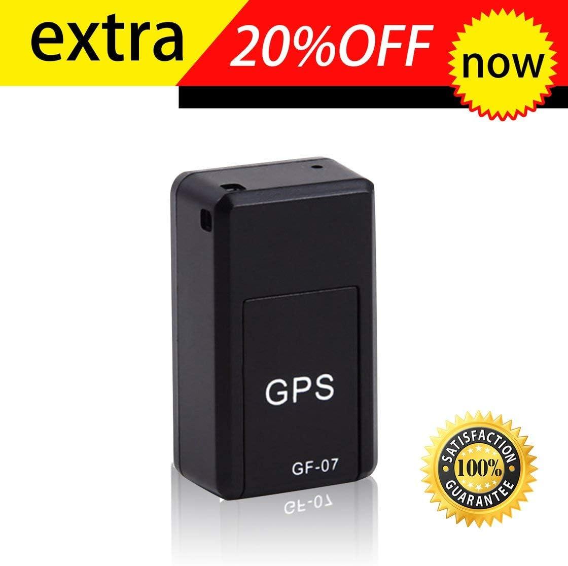 GF07 Mini Tracker Magn/étique GPS de Voiture Tracking Tracking en Temps R/éel Dispositif Magn/étique GPS Tracker Localisateur de V/éhicules en Temps R/éel