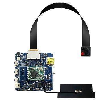 Aikes Detector de movimiento con cámara espía de seguridad que puede montarla