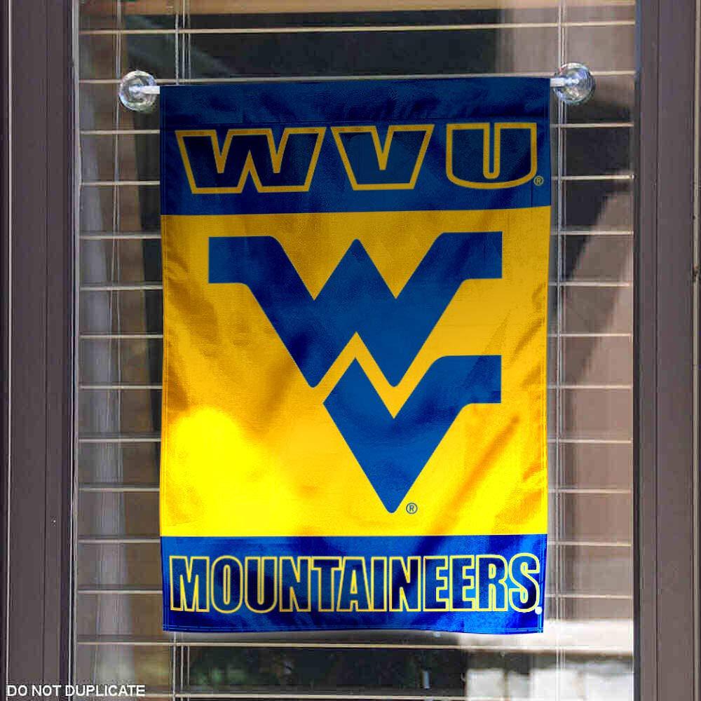 West Virginia WVU Mountaineers Garden Flag and Yard Banner