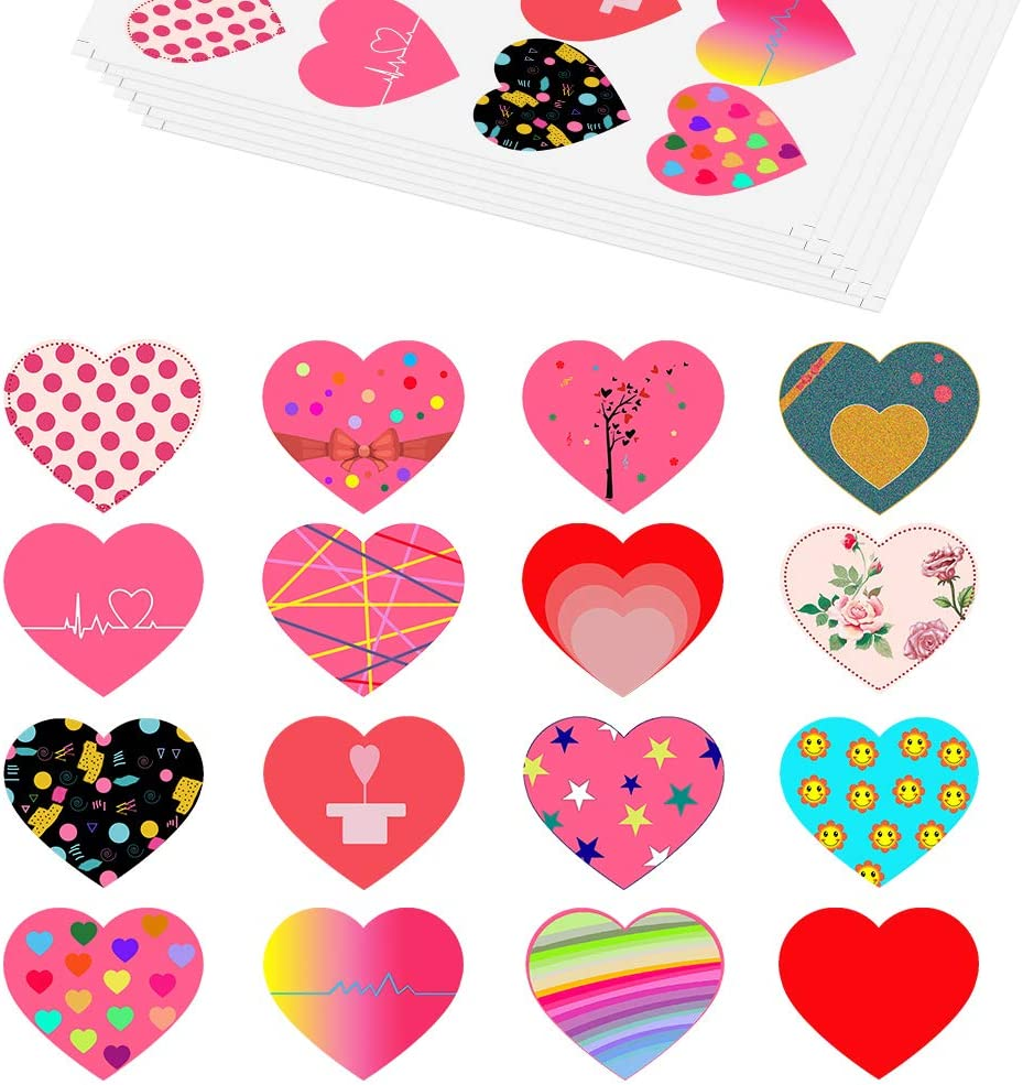 Valentines Day Labels Kids Valentines Day Party Supplies Youre OFishally Awesome Valentines Day Favor Stickers Valentines Day Party Stickers Fish Valentines Day Sticker Labels