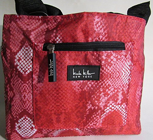 nicole-miller-of-new-york-insulated-lunch-cooler-python-red-11-lunch-tote