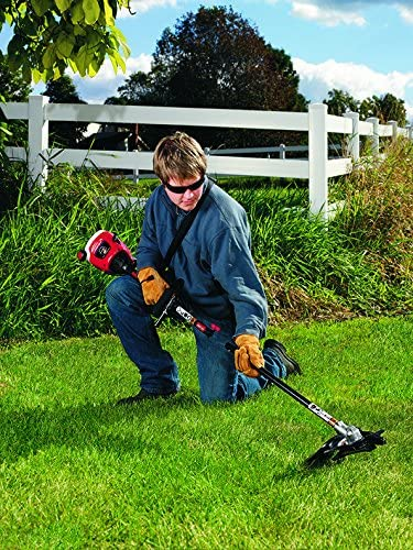 TrimmerPlus BC720 Brushcutter with J-Handle for Attachment Capable String Trimmers, Polesaws, and Powerheads, 8, Fatigue