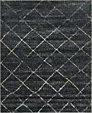 The Cloud Rugs Polo Collection, Casual Cream Dark Blue Area, Geometric Area Rug, 8′ x 10′ Review