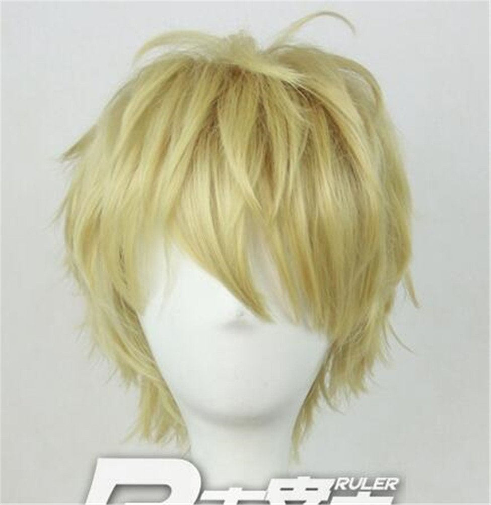 YOYOSHome® One-Punch Man Anime Genos Cosplay Wig Party Hair