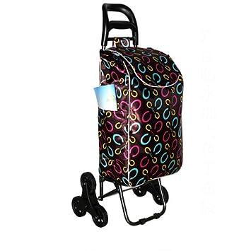 Carrito de la carretilla - cesta de compras plegable 6 ruedas - Carro de la compra , 7#: Amazon.es: Hogar