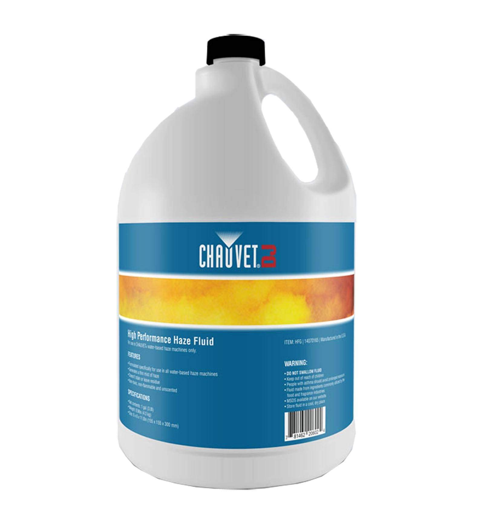 Chauvet DJ Hurricane HFG Water Based Smoke Fog Haze Machine Fluid, 1 Gallon by CHAUVET DJ