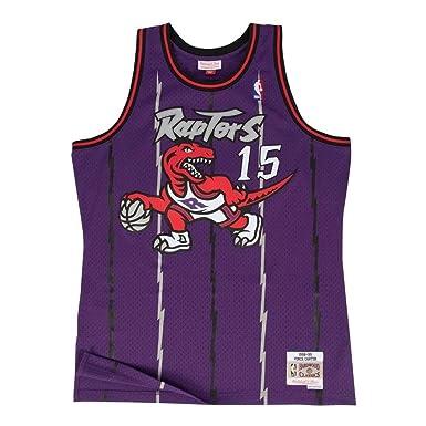 Camiseta Swingman vintage Mitchell & Ness Vince Carter Toronto Raptors Talla M