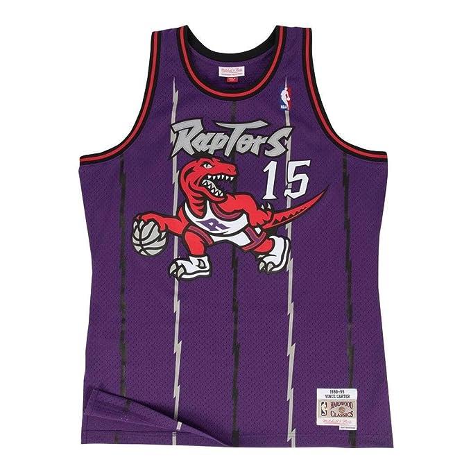 Camiseta Swingman vintage Mitchell & Ness Vince Carter Toronto Raptors Talla S