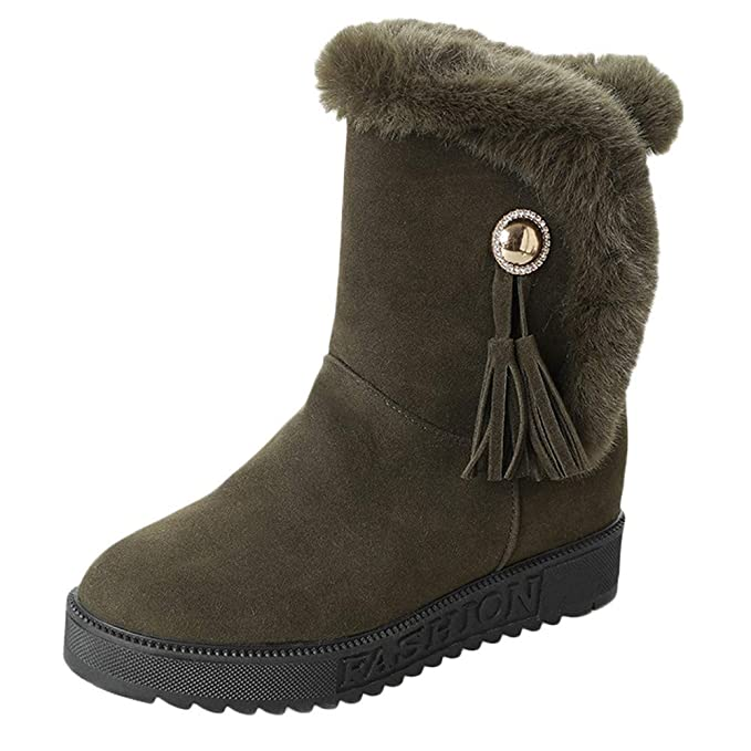 Vovotrade ♛ Stivali Invernali da Donna 204ebba480c