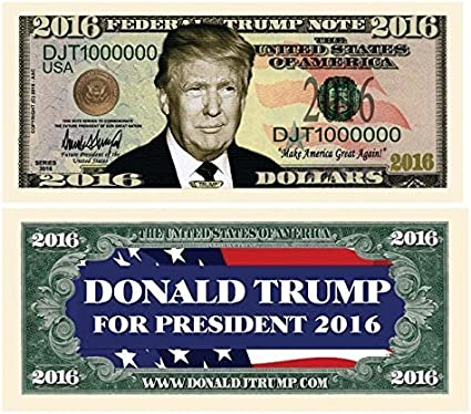 Digital Print Flag President Donald Trump 2020 Dinosaur Free Trump Dollar Bill