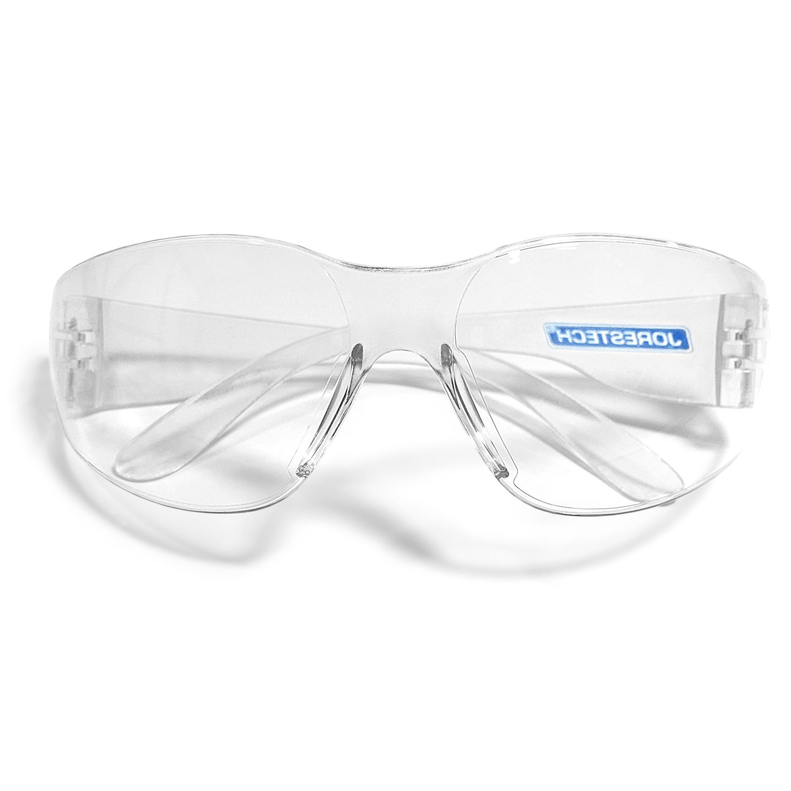 JORESTECH Eyewear Protective Safety Glasses, Polycarbonate Impact Resistant Lens Pack of 12 (Clear) by JORESTECH (Image #3)