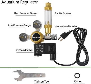 DoubleSun Aquarium CO2 Regulator