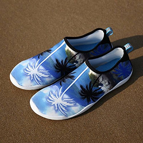 Respirant Confortable B Chaussure Bleu Jixin4you Casual d'eau Chausson Séchage Rapide pE7wSq