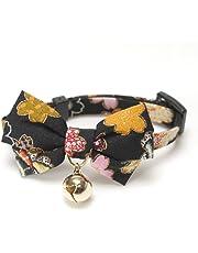 Necoichi Kimono Bow Tie Cat Collar