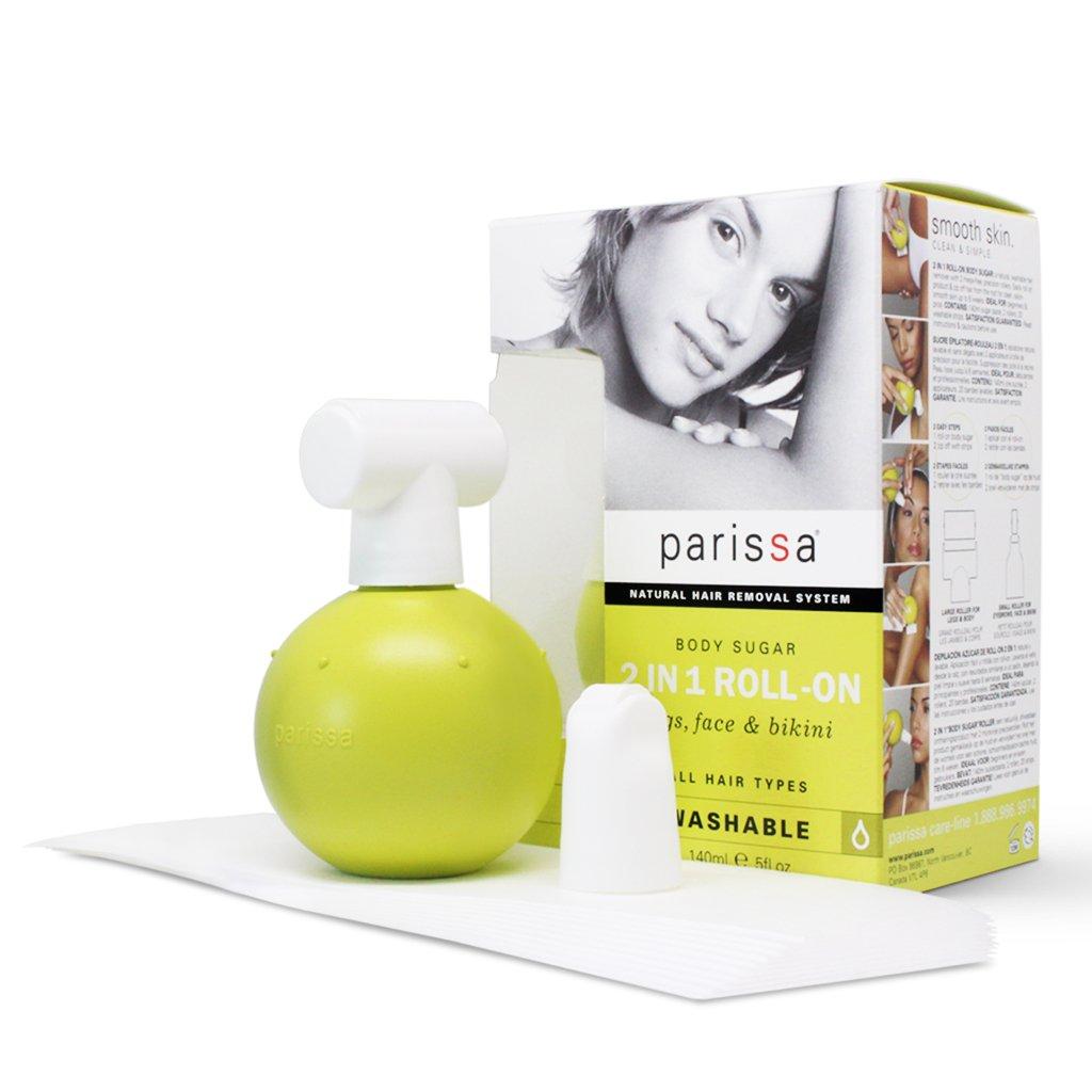 Parissa 2in1 Roll-On Body Waxing Sugar 140ml R200 066427970005