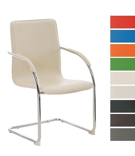 8 opinioni per CLP Sedia Cantilever con braccioli MELINA V2, sedia per sale conferenza / sedia