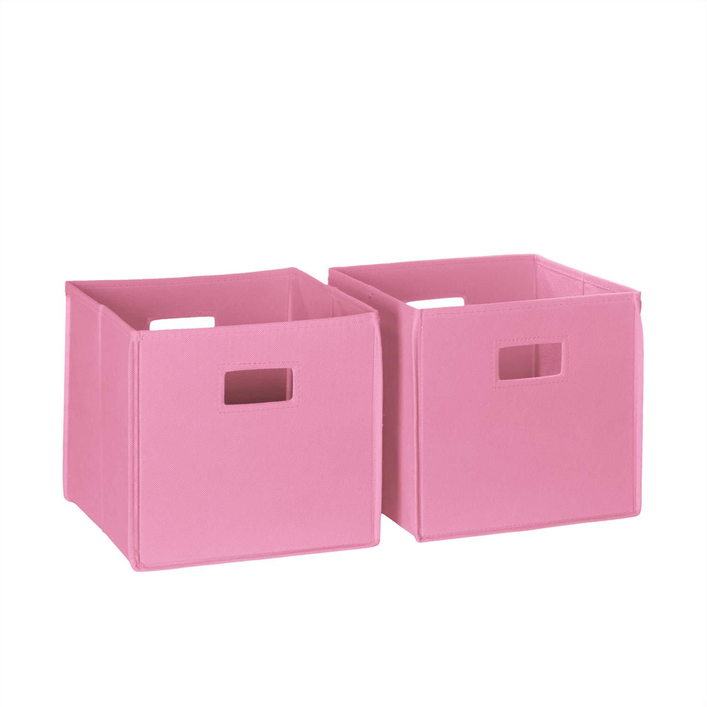 RiverRidge Home 2 Pc Storage Folding Bin, Black Sourcing Solutions Inc. 02-160