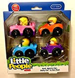 Little People Wheelies 4-pack (4x4, Sports Car, Rally Car, Hot Rod)