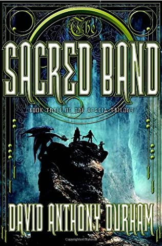 book cover of The Sacred Band
