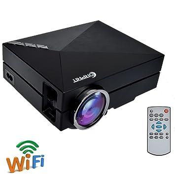 Corprit - Proyector inalámbrico para Cine en casa (LED, conexión ...