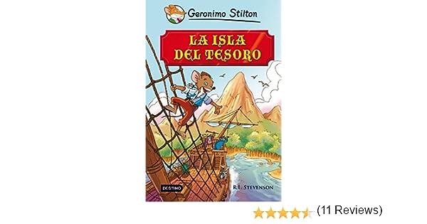 La isla del tesoro eBook: Stilton, Geronimo, Stevenson, Robert ...