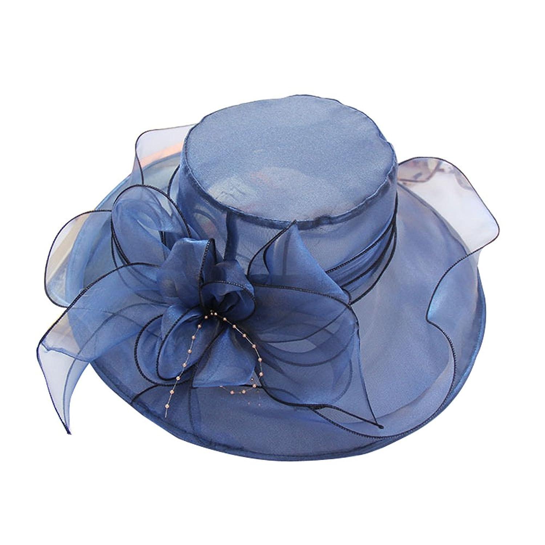 Flower hats for women summer garden wedding Party derby Hat ... 297703b390c