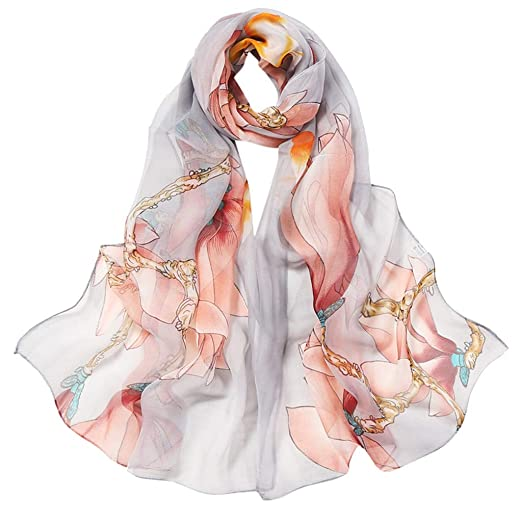 c2160c944 Scarf for Women Lightweight Paisley Fashion for Spring Winter Scarves Shawl  Wrap at Amazon Women's Clothing store:
