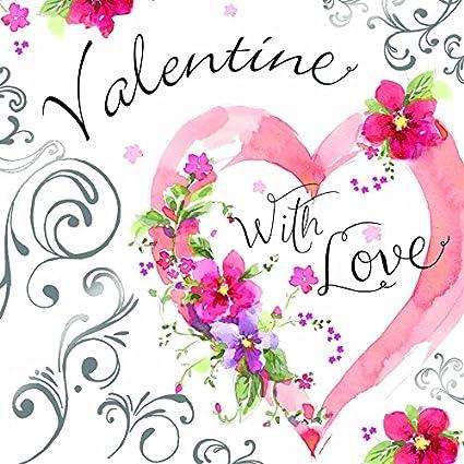 Twizler Tarjeta de San Valentín para ella - Tarjeta de San ...