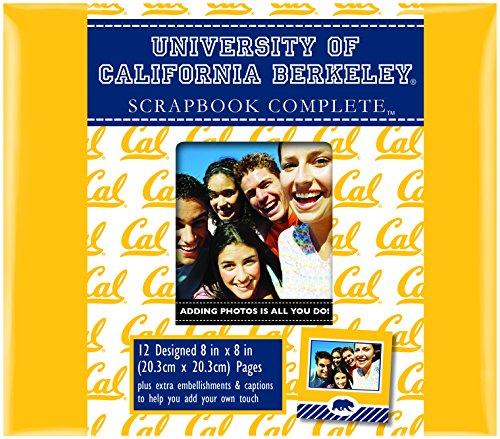 C.R. Gibson Scrapbook Complete Kit, Small, Cal-Berkley ()