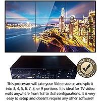 3x3 HDMI Video Wall Processor HD TV 1080P Matrix Controller Splicer Splitter Display 3x2 2x2 3x1 1x3 2x3 4x2 2x4