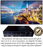 3x3 HDMI Video Wall Processor HD TV 1080P Matrix