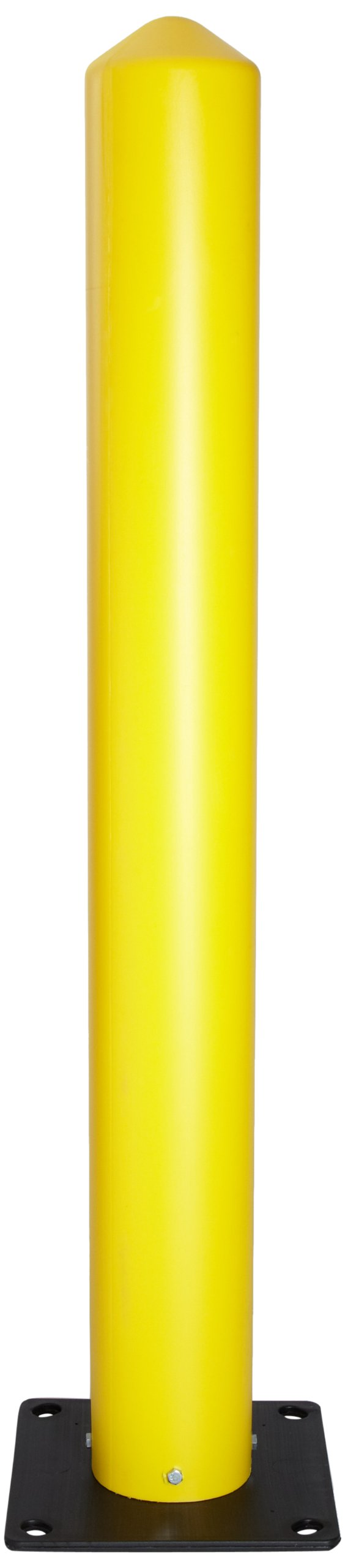 Eagle 1731 Poly Bollard Post, 5'' Width x 42'' Height, Yellow