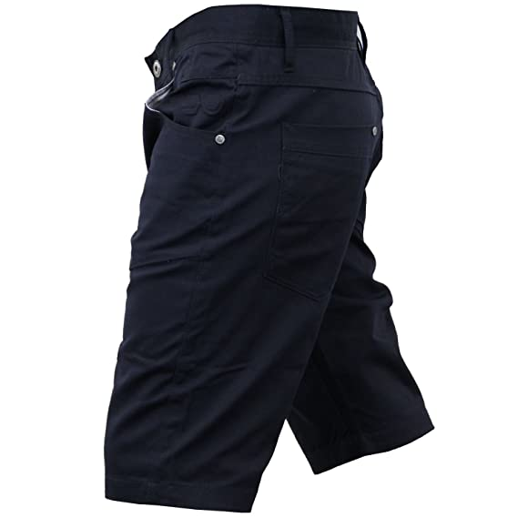 Firetrap Mens New Eastley Designer Cargo Chino Shorts Wild Dove:  Amazon.co.uk: Clothing