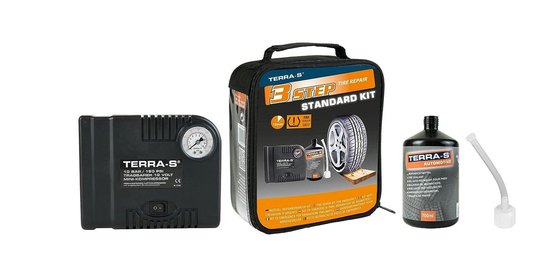 Terra S Reifenpannen Kit Standard 700ml Flschwarz Amazon Co Uk Car