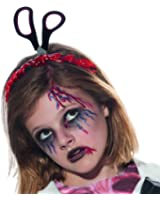 Bloody Scissors Zombie Undead Childrens Costume Headband