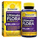 Renew Life Advanced Immunity, Ultimate Flora, 10 billion, 30 Capsules
