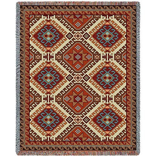 Pure Country Inc. Kilim Blanket Tapestry Throw - Pure Country Cotton Tapestry