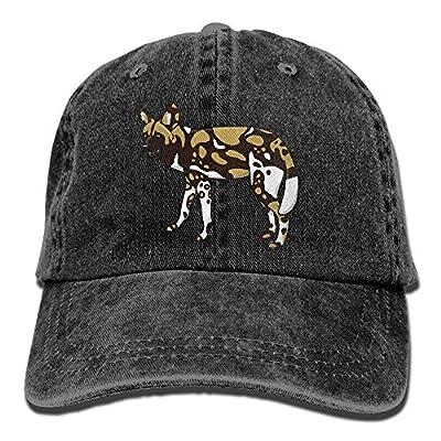 jacson Baseball Jeans Cap African Wild Dog Men Snapback Casquettes Adjustable Baseball Hat