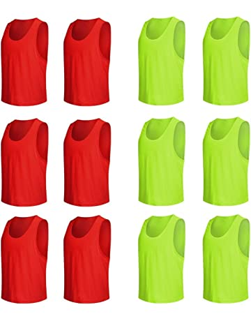 Assorted Colours Pinnie Vest for Sports Training Team Colours eBuyGB Adults Training Bib
