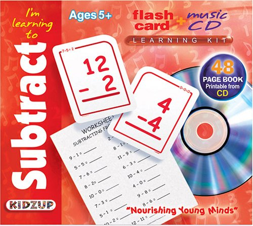Read Online Im Learning to Subtract (Flash Card + Music CD Learning Kit) PDF
