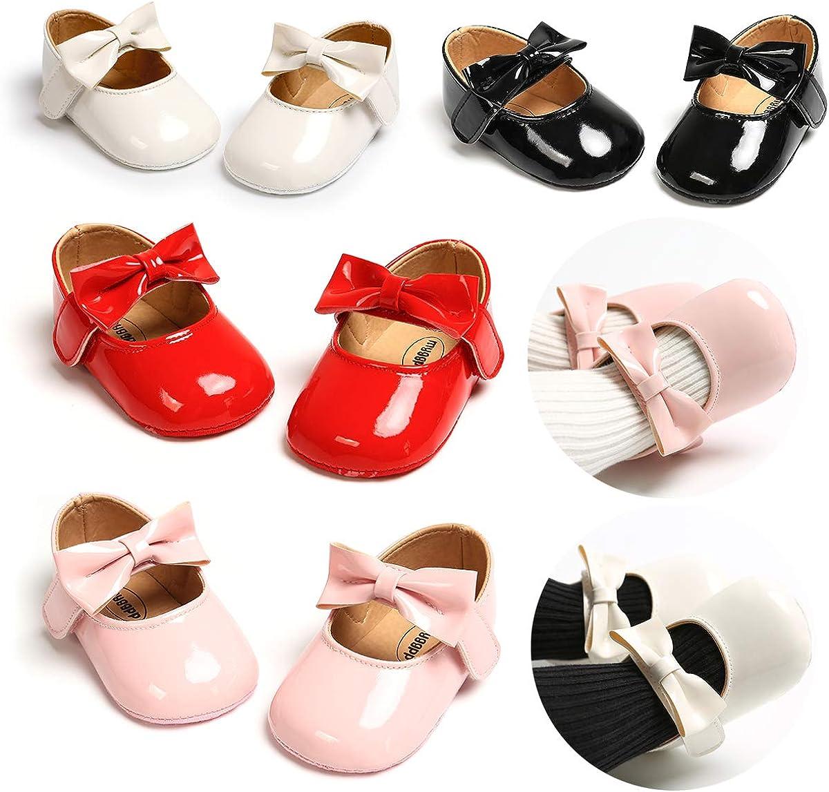 Zapatos Recien Nacido Antideslizante Bailarinas Princesa Bowknot Beb/é Ni/ñas