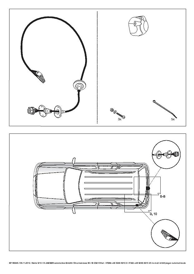 Umbra Rover feeelander II FL SUV 4 WD 2012 + Remolque Desmontable con 7p Índice Fischer S Juego de ut030 C or26zcm/ws12190514de2: Amazon.es: Coche y moto