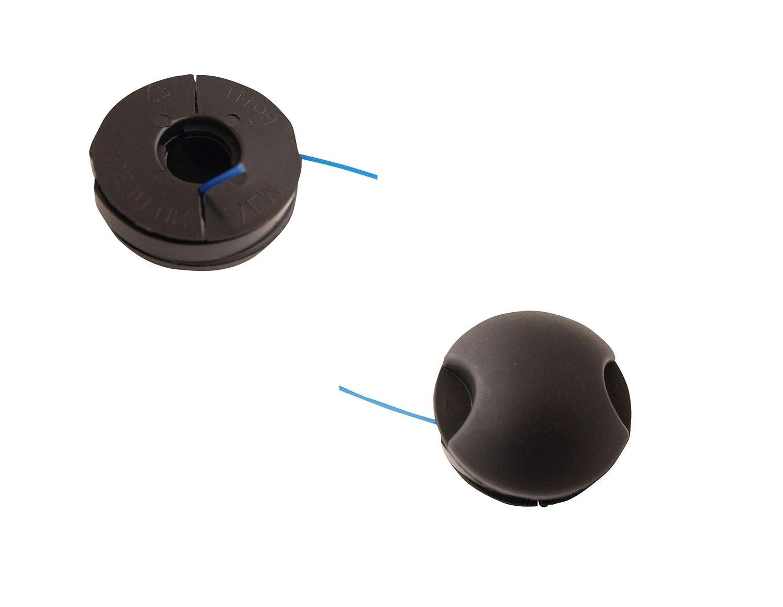 2er Set Fadenspule 1,3mm passend Bosch PRT 200 Freischneider