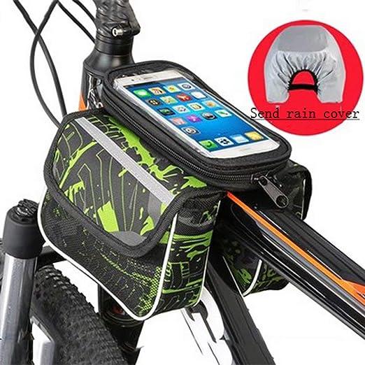 DFGB-SJZ Bolsa de Bicicleta Bolsa de teléfono móvil Bicicleta de ...